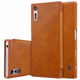 Чехол Nillkin Qin Leather Case для Sony Xperia XZ (F8331/F8332) Brown (коричневый)