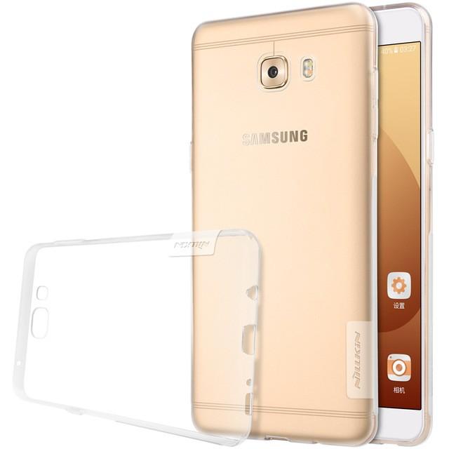 Накладка Nillkin Nature TPU Case силиконовая для Samsung Galaxy C9 Pro (C9000) прозрачная