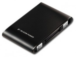 Жесткий диск Silicon Power A70 Armor 500Gb USB 2.0 Black