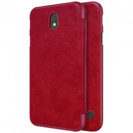 Чехол Nillkin Qin Leather Case для Samsung Galaxy J7 2017 (J7 Pro/J730) Red (красный)