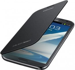 Чехол Flip Cover для Samsung GALAXY Note II N7100 серебристый