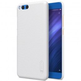 Накладка Nillkin Frosted Shield пластиковая для Xiaomi Mi Note 3 White (белая)