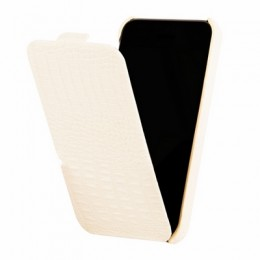 Чехол Borofone Crocodile Leather case для iPhone 5C White
