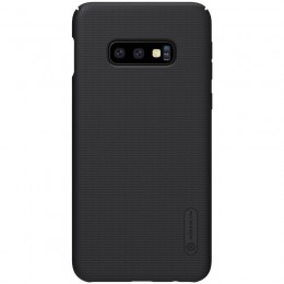 Накладка Nillkin Frosted Shield пластиковая для Samsung Galaxy S10e SM-G970 Black (черная)