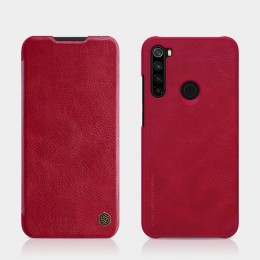 Чехол Nillkin Qin Leather Case для Xiaomi Redmi Note 8 Red (красный)