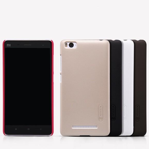 Накладка Nillkin пластиковая для Xiaomi Mi4i золотая