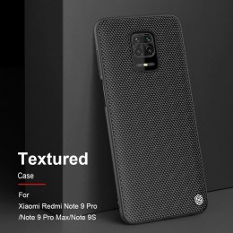 Накладка Nillkin Textured Case для Xiaomi Redmi Note 9S / 9 Pro / 9 Pro Max Black (черная)