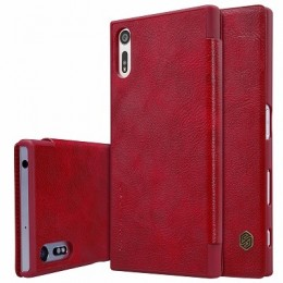 Чехол Nillkin Qin Leather Case для Sony Xperia XZ (F8331/F8332) Red (красный)