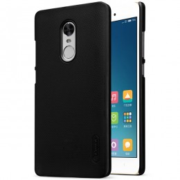 Накладка Nillkin Frosted Shield пластиковая для Xiaomi Redmi Note 4X Black (черная)