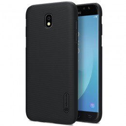 Накладка Nillkin Frosted Shield пластиковая для Samsung Galaxy J7 2017 (J7 Pro/J730) Black (черная)
