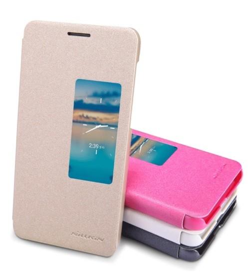 Чехол Nillkin Sparkle для Huawei Honor 6 розовый