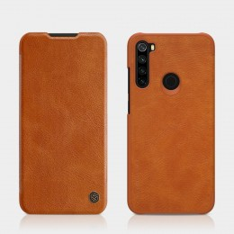 Чехол Nillkin Qin Leather Case для Xiaomi Redmi Note 8 Brown (коричневый)