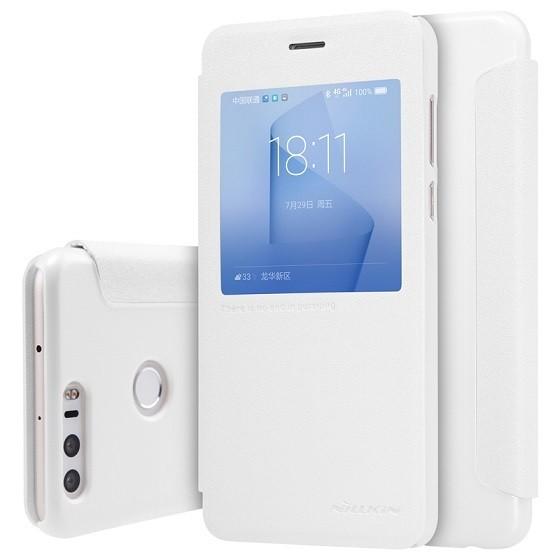Чехол Nillkin Sparkle Series для Huawei Honor 8 White (белый)