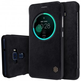 Чехол Nillkin Qin Leather Case для Asus Zenfone 3 ZE552KL Black (черный)