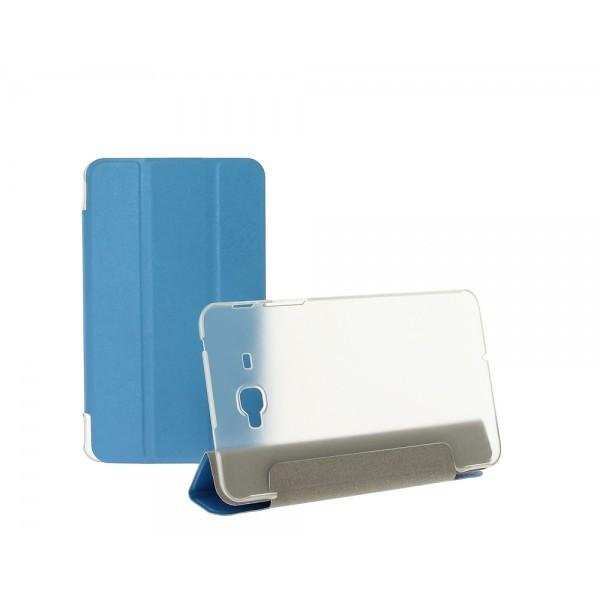 "Чехол Trans Cover для Samsung Galaxy J Max (7.0"") голубой"