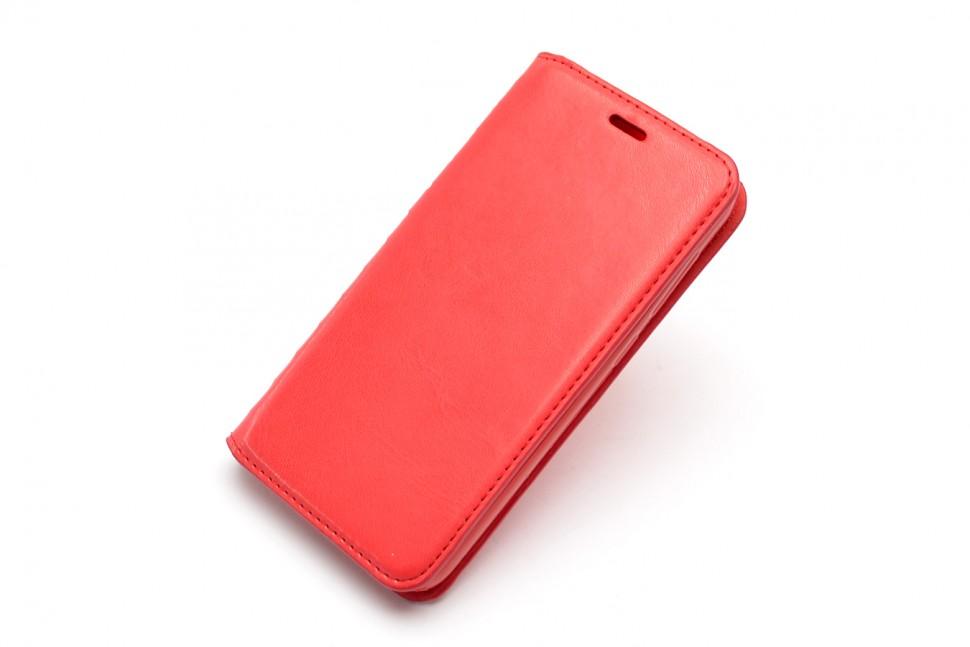 Чехол-книжка для Xiaomi Redmi 4X Book Type красная