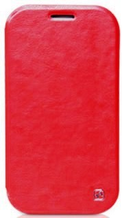 Чехол HOCO Crystal Leather Case для Samsung Galaxy Note II N7100 Red