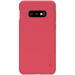 Накладка Nillkin Frosted Shield пластиковая для Samsung Galaxy S10e SM-G970 Red (красная)