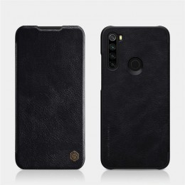 Чехол Nillkin Qin Leather Case для Xiaomi Redmi Note 8 Black (черный)