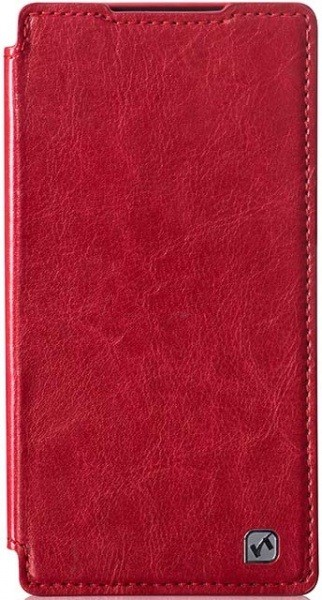 Чехол HOCO Crystal series Leather Case для Sony Z2 красный