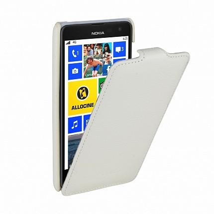 Чехол Melkco для Nokia Lumia 625 White LC (белый)