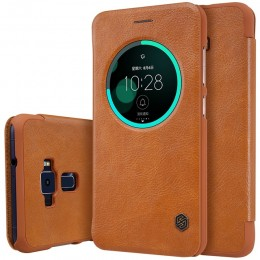 Чехол Nillkin Qin Leather Case для Asus Zenfone 3 ZE552KL Brown (коричневый)