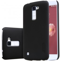 Накладка Nillkin Frosted Shield пластиковая для LG K10 (K410/K430) Black (черная)