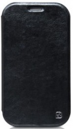 Чехол HOCO Crystal Leather Case для Samsung Galaxy Note II N7100 Black