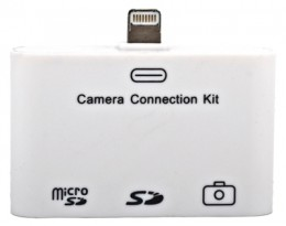 Переходник Connection Kit для iPad 4/ iPad mini/ iPhone 5/ iPod touch 5/ iPod nano 7 3в1