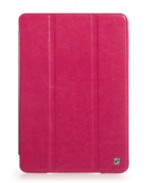 Чехол HOCO CRYSTAL leather case для iPad mini2 Retina ROSE RED