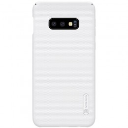 Накладка Nillkin Frosted Shield пластиковая для Samsung Galaxy S10e SM-G970 White (белая)