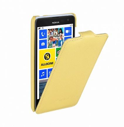 Чехол Melkco для Nokia Lumia 625 Yellow LC (желтый)
