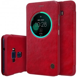 Чехол Nillkin Qin Leather Case для Asus Zenfone 3 ZE552KL Red (красный)
