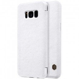 Чехол Nillkin Qin Leather Case для Samsung Galaxy S8 Plus G955 White (белый)
