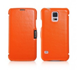 Чехол iCarer для Samsung Galaxy S5 G900 Orange (оранжевый)
