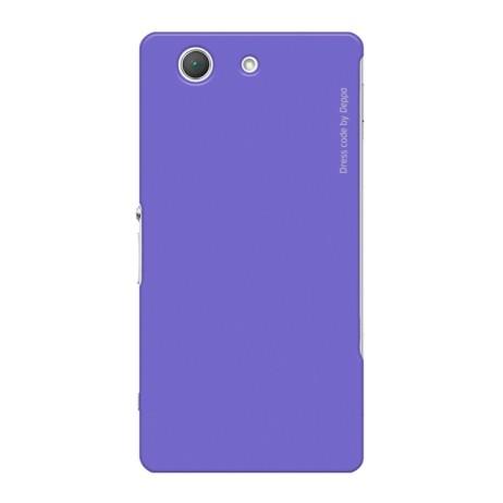 Накладка Deppa Air Case для Sony Xperia Z3 Compact фиолетовая