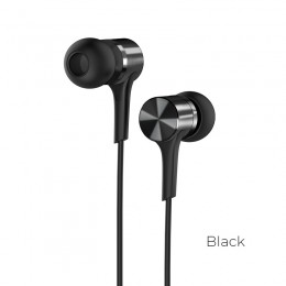 Наушники Hoco M54 Pure Music Metal Earphones Black (черные)