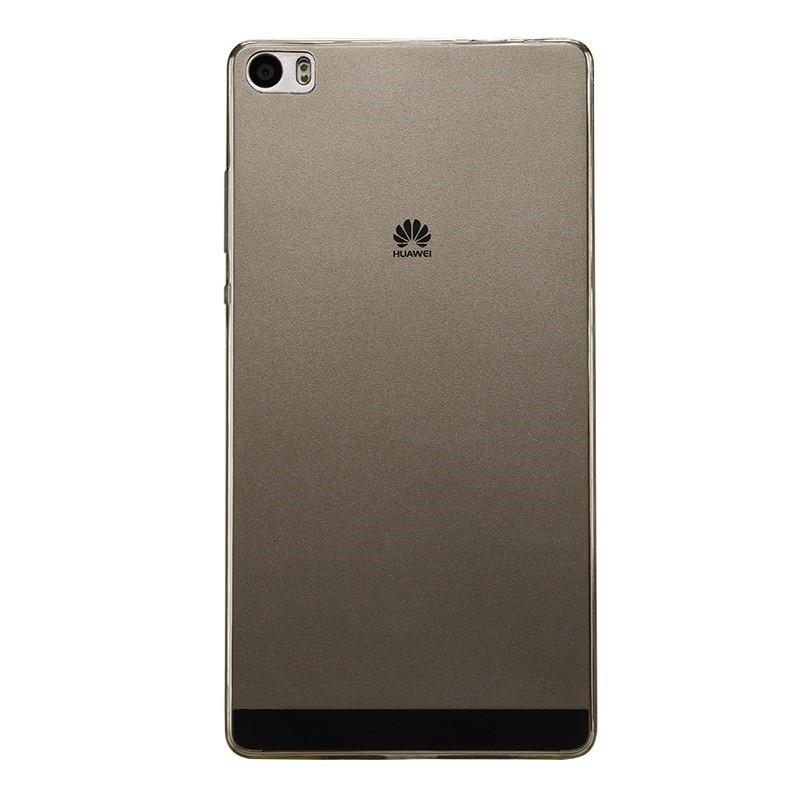 Накладка силиконовая для Huawei P8 Max прозрачно-черная