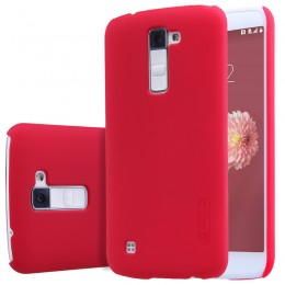 Накладка Nillkin Frosted Shield пластиковая для LG K10 (K410/K430) Red (красная)