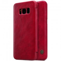 Чехол Nillkin Qin Leather Case для Samsung Galaxy S8 Plus G955 Red (красный)
