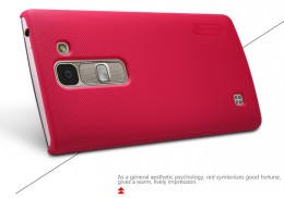 Накладка Nillkin Frosted Shield пластиковая для LG Spirit (H440Y) Red (красная)