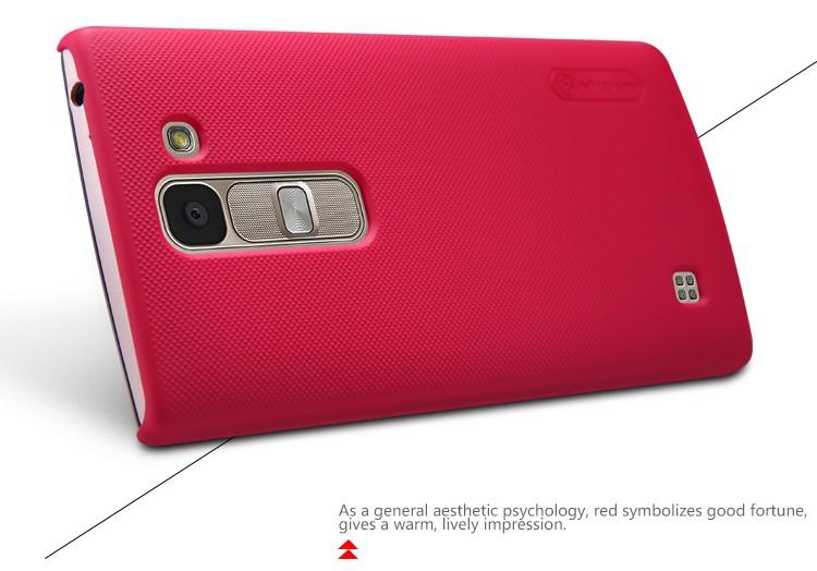 Накладка Nillkin Frosted Shield пластиковая для LG Spirit (H440Y) Red (красная)