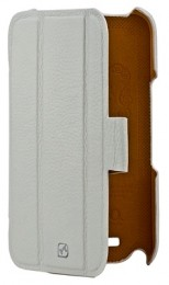 Чехол HOCO Real Leather Case для Samsung Galaxy Note II N7100 White