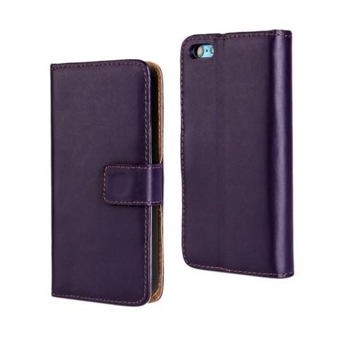 Чехол-книжка для Samsung Galaxy A5 (2016) A510 с силиконовым основанием фиолетовый
