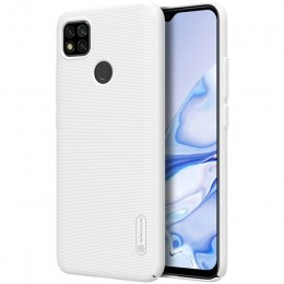 Накладка Nillkin Frosted Shield пластиковая для Xiaomi Redmi 9C White (белая)