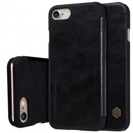 Чехол Nillkin Qin Leather Case для Apple iPhone 7 Black (черный)