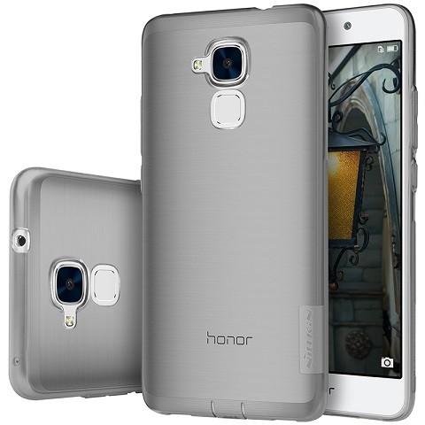 Накладка Nillkin Nature TPU Case силиконовая для Huawei Honor 5C прозрачно-черная