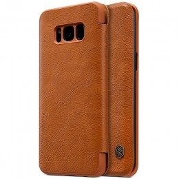 Чехол Nillkin Qin Leather Case для Samsung Galaxy S8 Plus G955 Brown (коричневый)