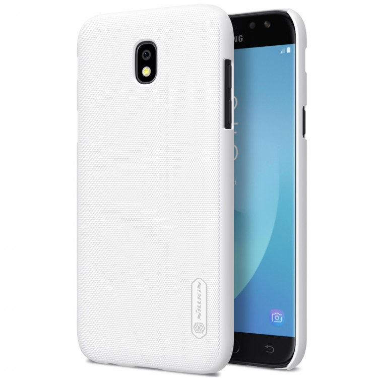 Накладка Nillkin Frosted Shield пластиковая для Samsung Galaxy J7 2017 (J7 Pro/J730) White (белая)