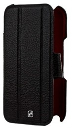 Чехол HOCO Real Leather Case для Samsung Galaxy Note II N7100 Black